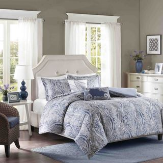 Link to Harbor House Stella Cotton Sateen Printed Duvet Cover Set Similar Items in Duvet Covers & Sets