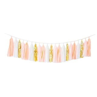 Blush Bazaar Tassel Garland (More options available)