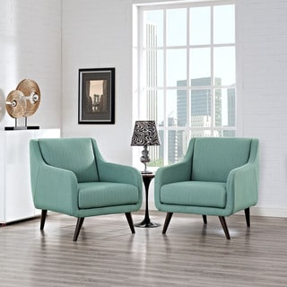 Modway Verve Upholstered Armchairs (Set of 2)