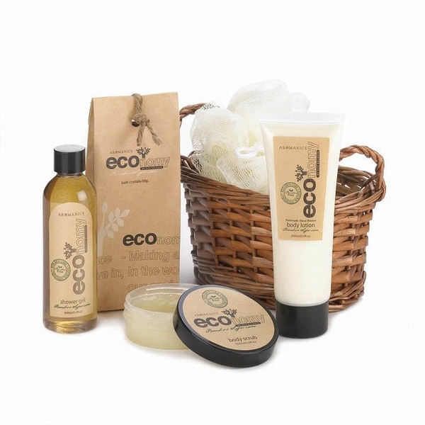 Bath and Body Natural Eco-Fragrance Spa Gift Set - Clear