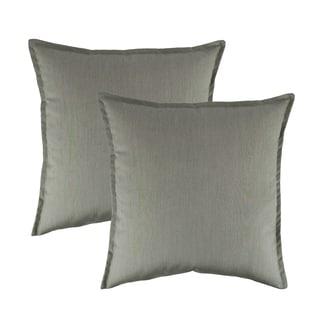 Austin Horn Classics Sunbrella Spectrum Dove 20-inch Outdoor Pillow (set of 2)