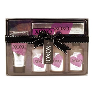 XOXO Grape 5-piece Bath and Shower Kit