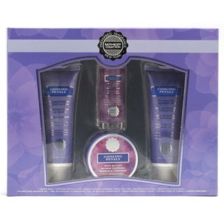 Preferred Fragrance Cooling Petal 4-piece Bath and Shower Kit