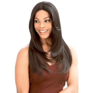 New Born Free Human Hair Blend Lace Front Wig