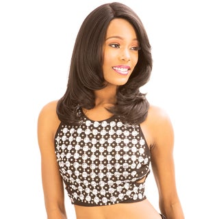 New Born Free MLUH93 Human Hair Blend Lace Front Wig