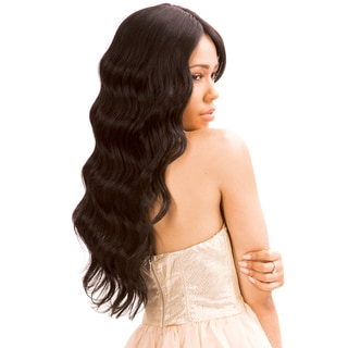 Born Free MLUH94 Human Hair Blend Lace Front Wig