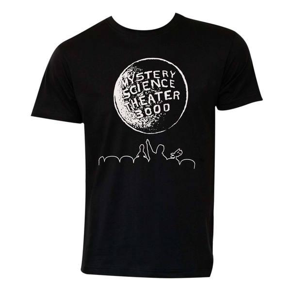 Mystery Science Theater 3000 Moon Logo Tee Shirt