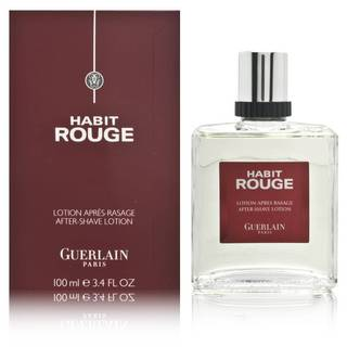 Guerlain Habit Rouge Men's 3.4-ounce Aftershave Lotion