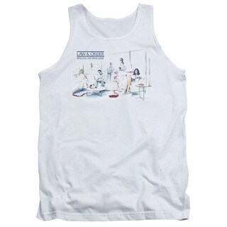 Law & Order SVU/Dominos Adult Tank in White