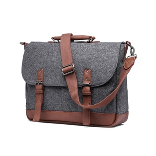 Something Strong Wool Laptop/Tablet Messenger Bag