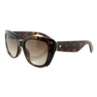Kate Spade KS Andrina EDJ Havana Brown Gradient Lens Cat-Eye Sunglasses