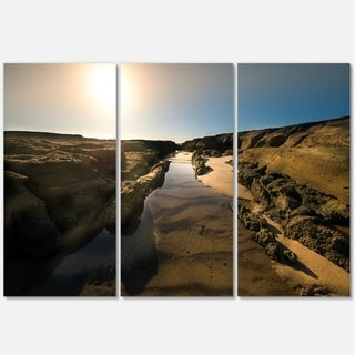 Beautiful Landscape at Norah Head - Landscape Glossy Metal Wall Art - 36Wx28H