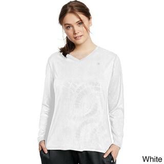 Champion Women's Vapor Plus-size Longsleeve T-shirt