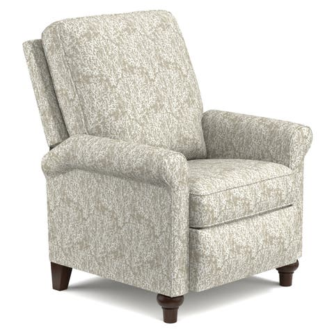 ProLounger Taupe Coral Push Back Recliner Chair