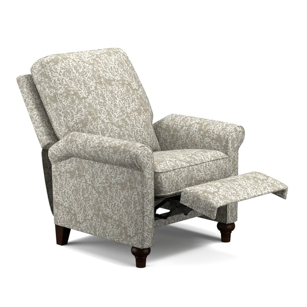 Prolounger Taupe Coral Push Back Recliner Chair Free