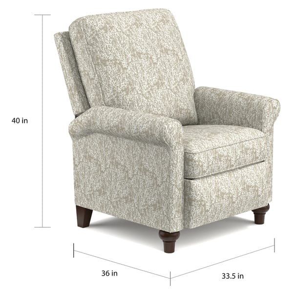 Peachy Shop Prolounger Taupe Coral Push Back Recliner Chair On Ibusinesslaw Wood Chair Design Ideas Ibusinesslaworg