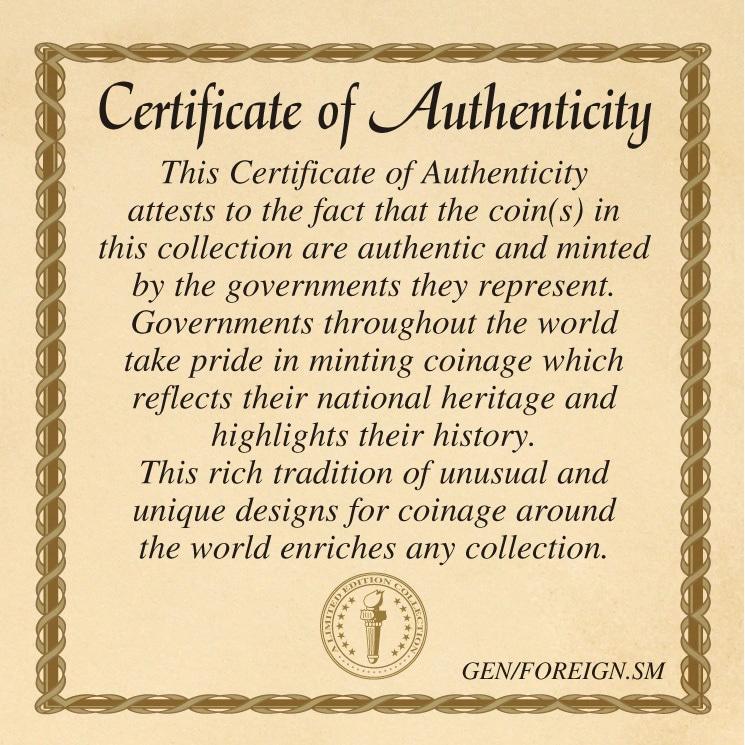 NEW American Coin Treasures Hummingbird Coin Pendant Necklace 14125