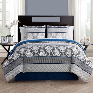 VCNY Beckham 8-piece Bed in a Bag with Sheet Set