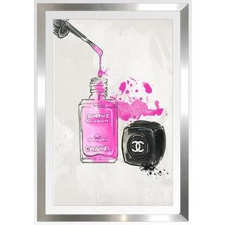 "BY Jodi ""Chanel Nail Polish"" Framed Plexiglass Wall Art"
