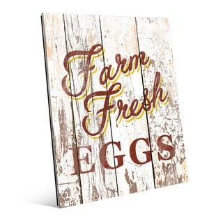 Farm Fresh Eggs' Acrylic Wall Art