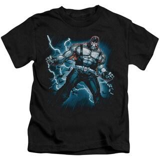 Batman/Stormy Bane Short Sleeve Juvenile Graphic T-Shirt in Black