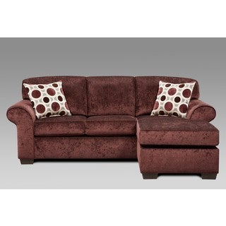 Sofa Trendz Chloe Polyester Sofa With Chaise