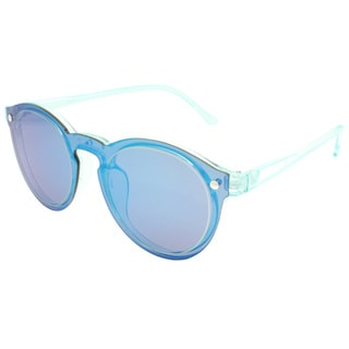 Hot Optix Women's Multicolored Fashion Round Mirrored Sunglasses