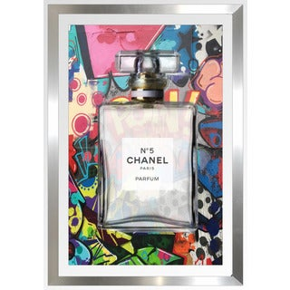 "BY Jodi ""Chanel 2016 I"" Framed Plexiglass Wall Art"