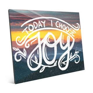 Today I Choose Joy' Acrylic Wall Art