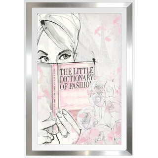 "BY Jodi ""Book Of Fashion"" Framed Plexiglass Wall Art"