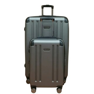 Heritage OHare Silver 2-piece Lightweight Hardside Spinner Luggage Set