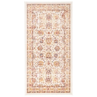 Safavieh Sevilla Ivory / Multicolored Viscose Rug (2'1 x 4')