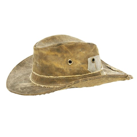 73a21fc5 The Real Deal Brazil's Tan Recyceled Cotton Cavans Original Hat