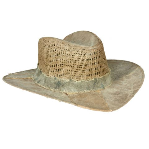 Real Deal Brazil Brisa Tan/Khaki Recycled Cotton Canvas Tarp Hat