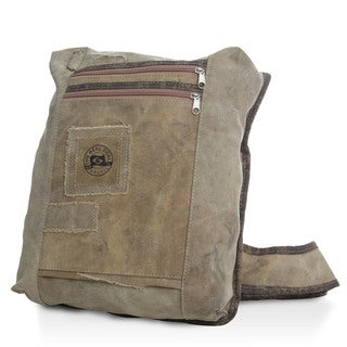 The Real Deal Brazil's Recycled Cotton Canvas Manaus Shoulder Bag