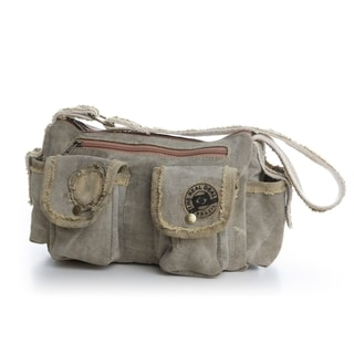The Real Deal Brazil's Recycled Cotton Canvas Natal Handbag