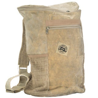 The Real Deal Brazil's Recycled Cotton Canvas Curitiba Adventurers Duffel Bag