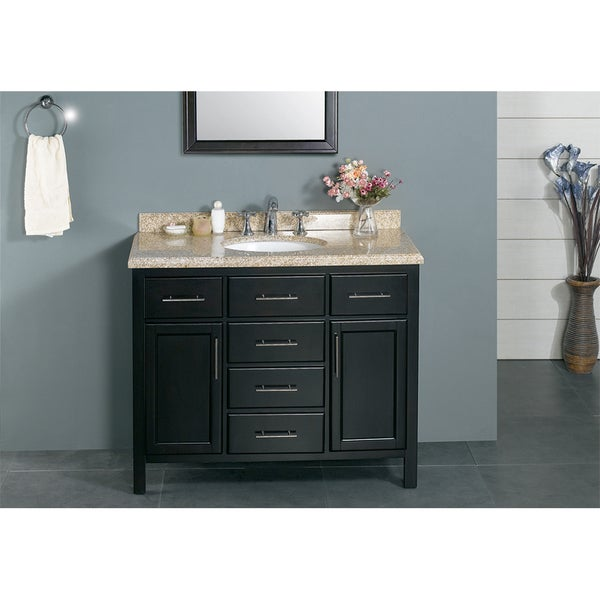 OVE Decors Malibu 42 Inch Bathroom Vanity