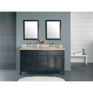OVE Decors Malibu Brown Ceramic Wood 60-inch Double Bathroom Vanity|https://ak1.ostkcdn.com/images/products/12683294/P19468154.jpg?impolicy=medium