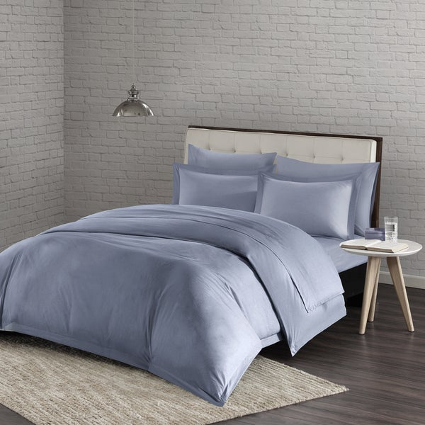 Urban Habitat Comfort Wash Cotton Duvet Cover Mini Set