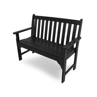 Polywood Vineyard Faux Wood 48-inch Bench