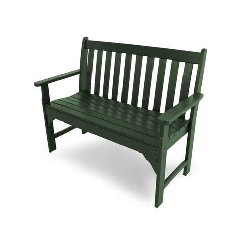 "POLYWOOD® Vineyard 48"" Outdoor Bench"