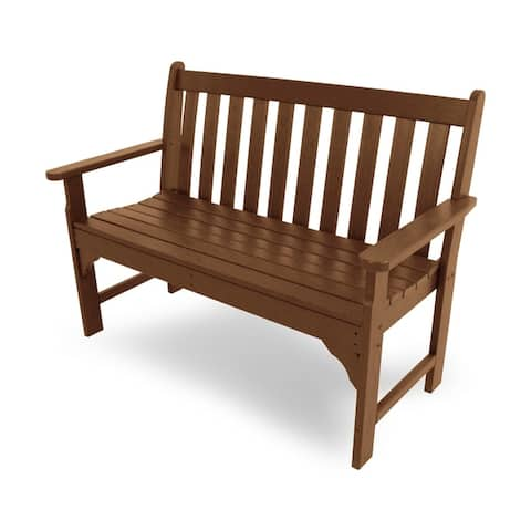 "POLYWOOD? Vineyard 48"" Outdoor Bench"