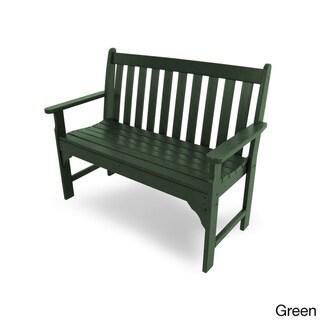Polywood Vineyard Faux Wood 48-inch Bench