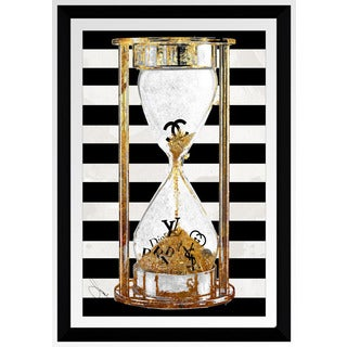 "BY Jodi ""Time For Couture"" Framed Plexiglass Wall Art"