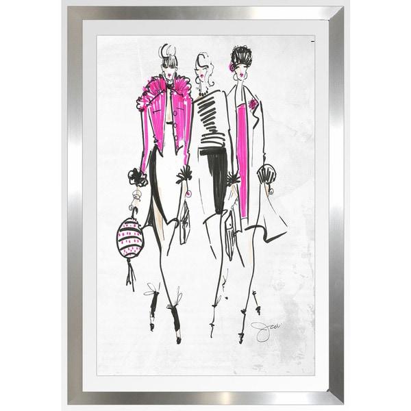 """BY Jodi """"Squad Goals"""" Framed Plexiglass Wall Art"""