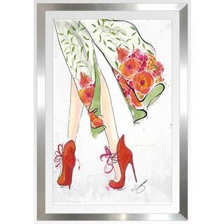 "BY Jodi ""Spring In The Air"" Framed Plexiglass Wall Art"