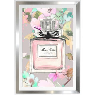 "BY Jodi ""Smell The Flowers"" Framed Plexiglass Wall Art"