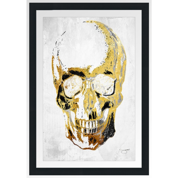 "BY Jodi ""Skull In Vogue"" Framed Plexiglass Wall Art"