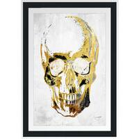 "BY Jodi ""Skull In Vogue"" Framed Plexiglass Wall Art"